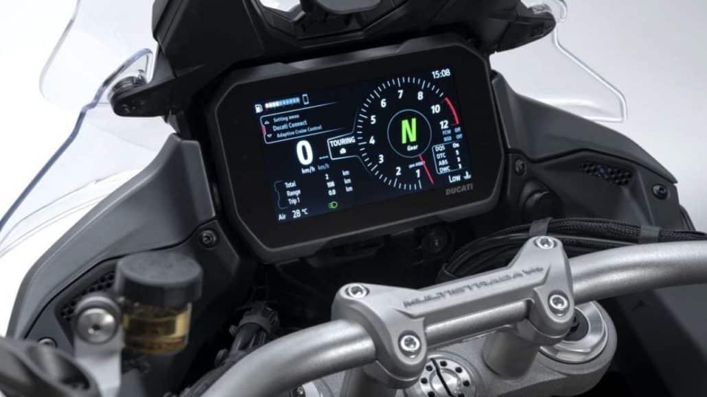 Ducati Multistrada V4 console